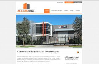 Accord Build Group by TeePlates Web Design Melbourne