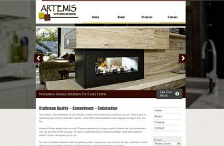 Artemis Kitchen Designs by TeePlates Web Design Melbourne