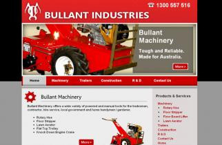 Bullant Industries by TeePlates Web Design Melbourne