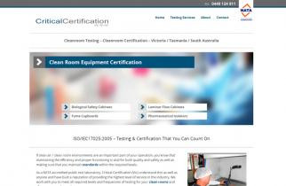 Critical Certification (Vic) by TeePlates Web Design Melbourne