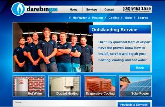 Darebin Gas by TeePlates Web Design Melbourne