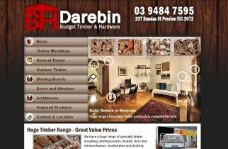 Darebin Timber by TeePlates Web Design Melbourne