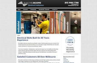 Electroscope by TeePlates Web Design Melbourne