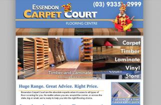 Essendon Carpet Court by TeePlates Web Design Melbourne