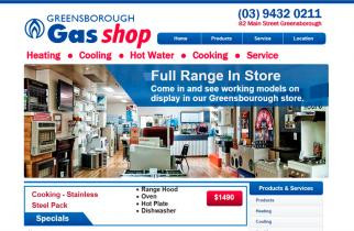 Greensborough Gas Centre by TeePlates Web Design Melbourne