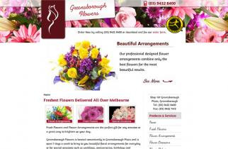 Greensborough Flowers by TeePlates Web Design Melbourne
