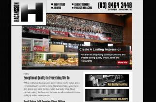 Hacansson Shopfitters by TeePlates Web Design Melbourne