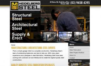Heidelberg Steel by TeePlates Web Design Melbourne