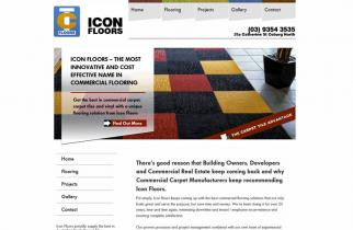 Icon Floors by TeePlates Web Design Melbourne