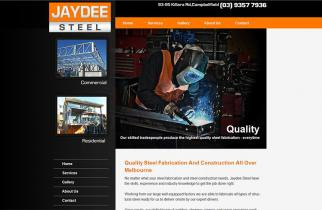 Jaydee Steel by TeePlates Web Design Melbourne
