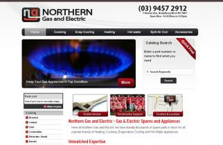 Northern Gas and Electric by TeePlates Web Design Melbourne