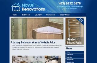 Novus Renovations by TeePlates Web Design Melbourne