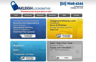 Oakleigh Locksmiths by TeePlates Web Design Melbourne