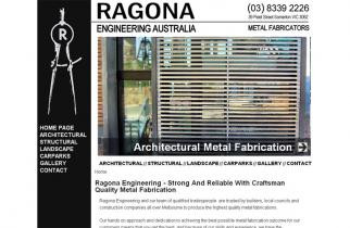 Ragona Engineering by TeePlates Web Design Melbourne