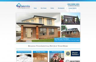 SalimCo Constructions by TeePlates Web Design Melbourne