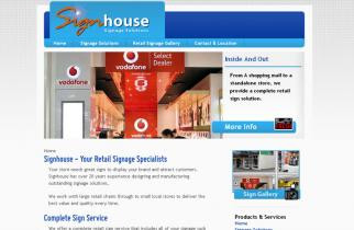 Signhouse by TeePlates Web Design Melbourne