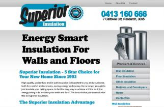 Superior Insulation by TeePlates Web Design Melbourne