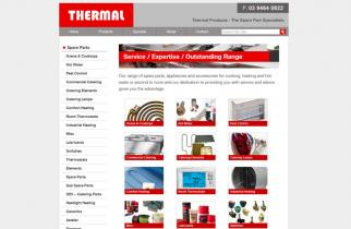 Thermal Products by TeePlates Web Design Melbourne