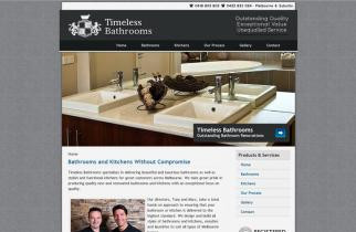 Timeless Bathrooms by TeePlates Web Design Melbourne