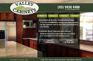 Valley Cabinets by TeePlates Web Design Melbourne